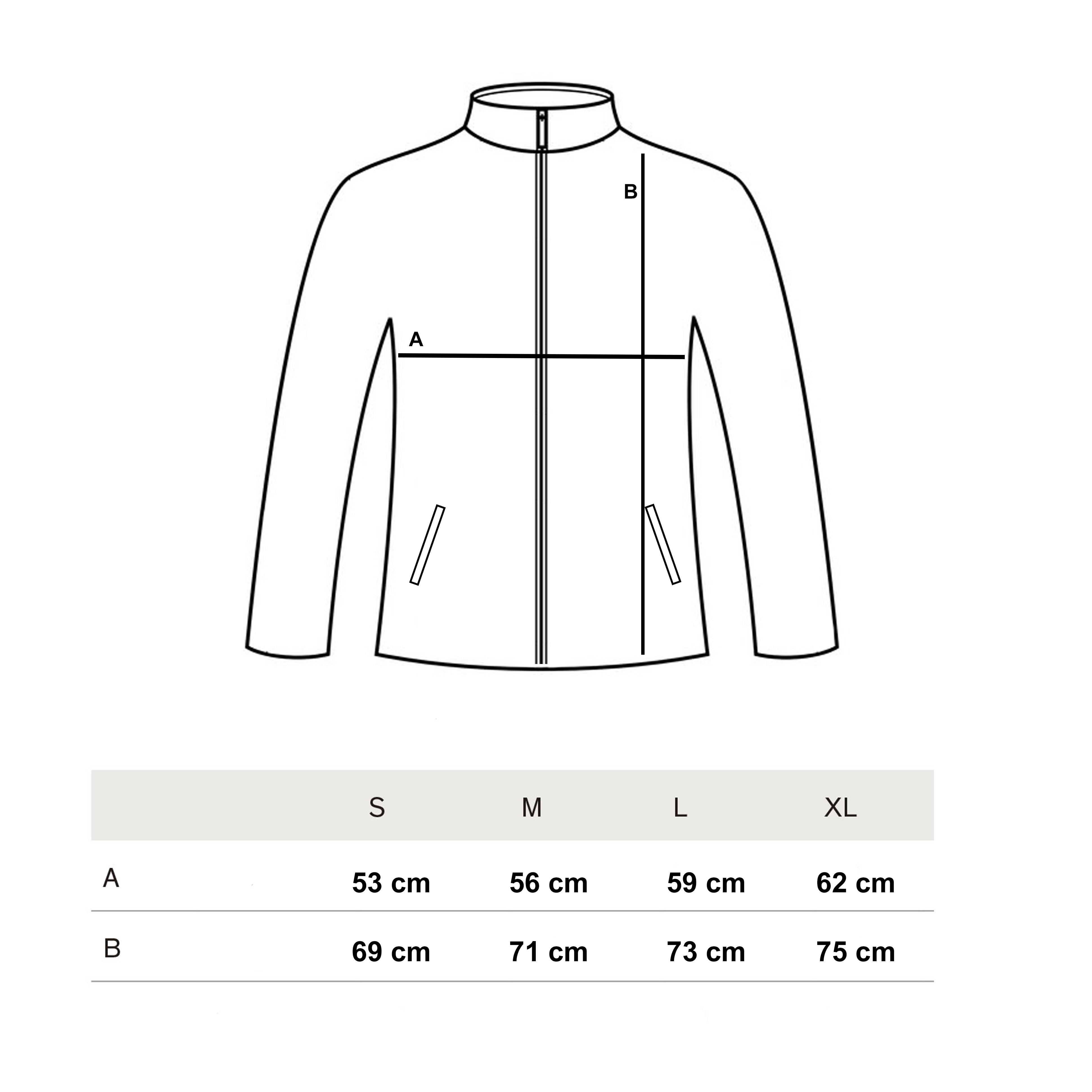 Fleece Size Guide