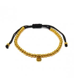 Taupe Macrame Bracelet