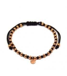 Berry Macrame Bracelet