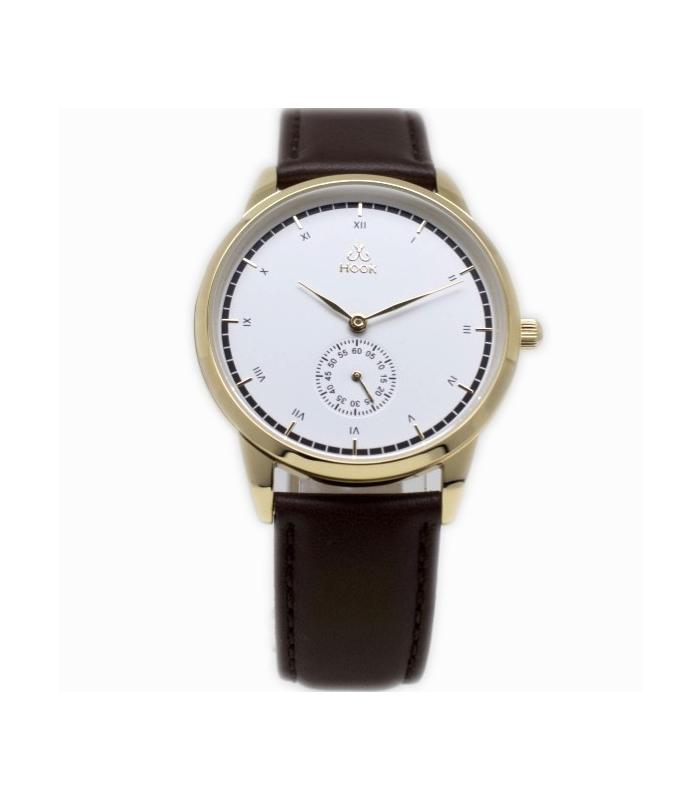 Reloj White Arctic Golden