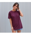 Camiseta Basic Burdeos