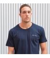 Camiseta Ola Azul
