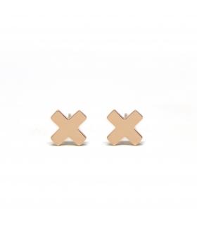 X Rosegold Earrings