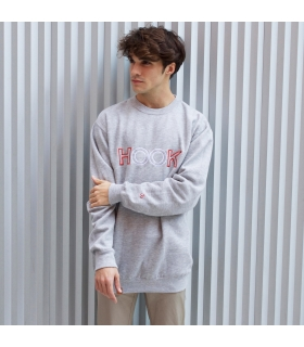 Sudadera University Grey