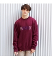 Sudadera University Burgundy