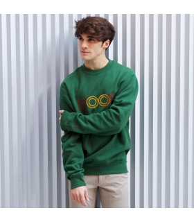 Sudadera University Green