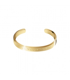 Live your Story Gold Cuff