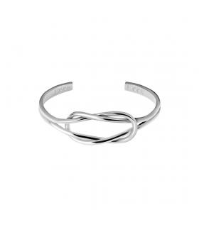 Knot Silver Cuff