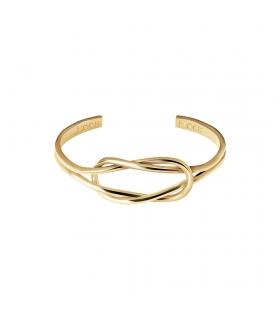 Knot Gold Cuff