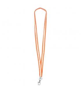 Orange Fluor Lanyard