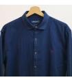 Camisa Textura Azul