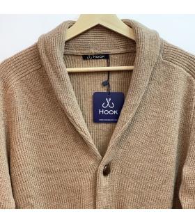 Caramel Wool Cardigan