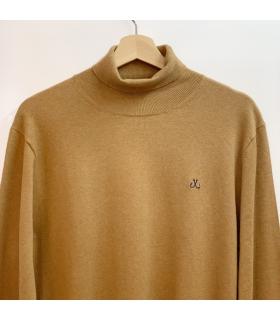 Caramel Turtleneck Sweater