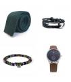 Tie + Bracelet + Ethnic Sunglasses Strap + Watch Pack