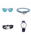 Pack Gafas de Sol + Cordón Gafas + Pulsera + Reloj Pack