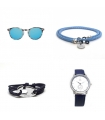 Sunglasses + Ethnic Sunglasses Strap + Bracelet + Watch Pack