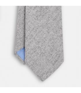 Victoria Grey Wool Tie