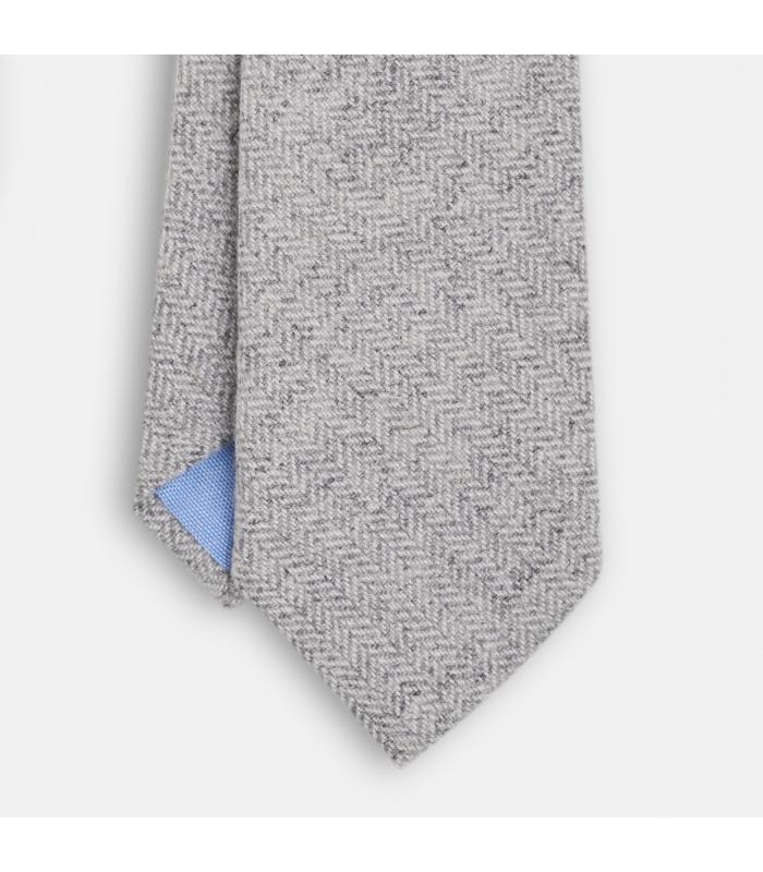 Corbata de Lana Gris Victoria