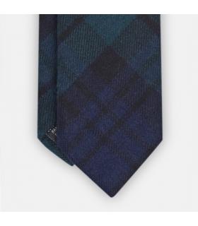 Perth Plaid Wool Tie