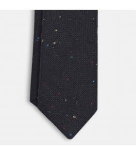 Sidney Black Wool Tie