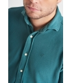 Camisa Piqué Verde