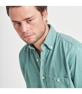 Green Pique Shirt