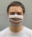 Orange Ethnic Reusable Homologated Face Mask