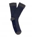 Calcetines Espiga Azul y Gris