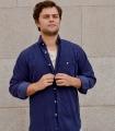 Camisa Pana Azul Marino